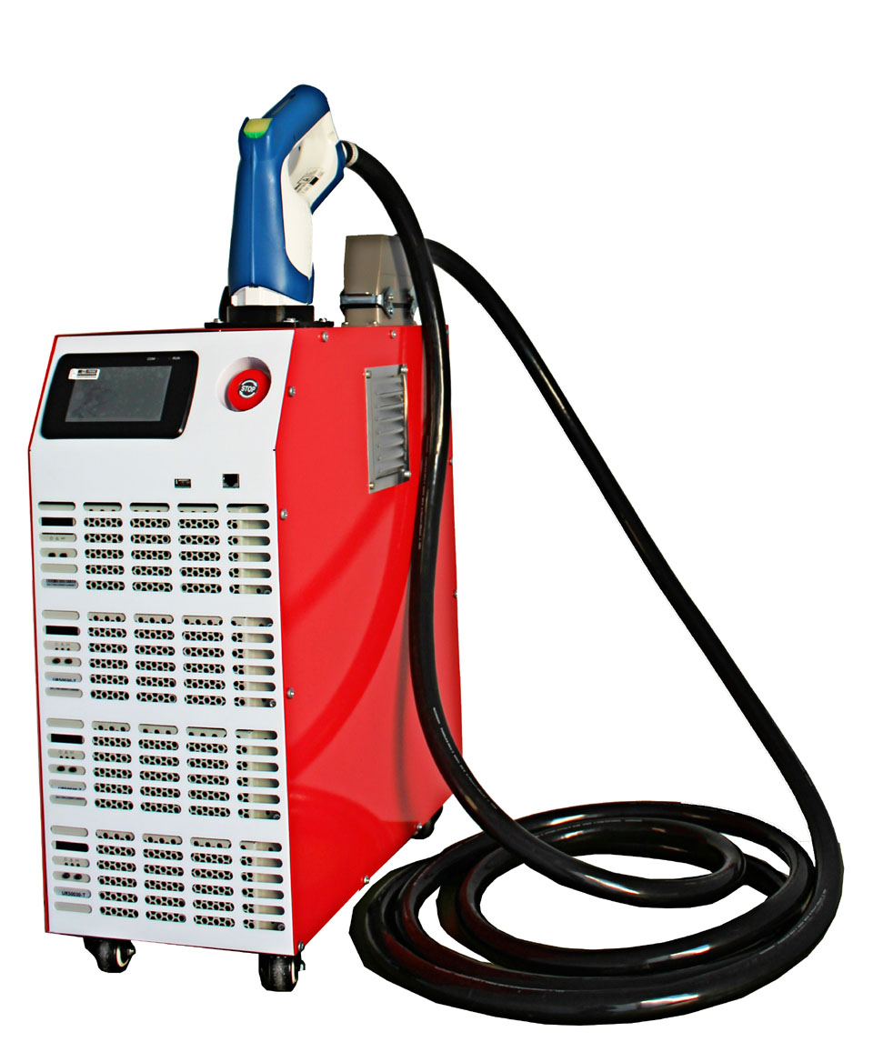 CCS 60kW mobile DC fast charger