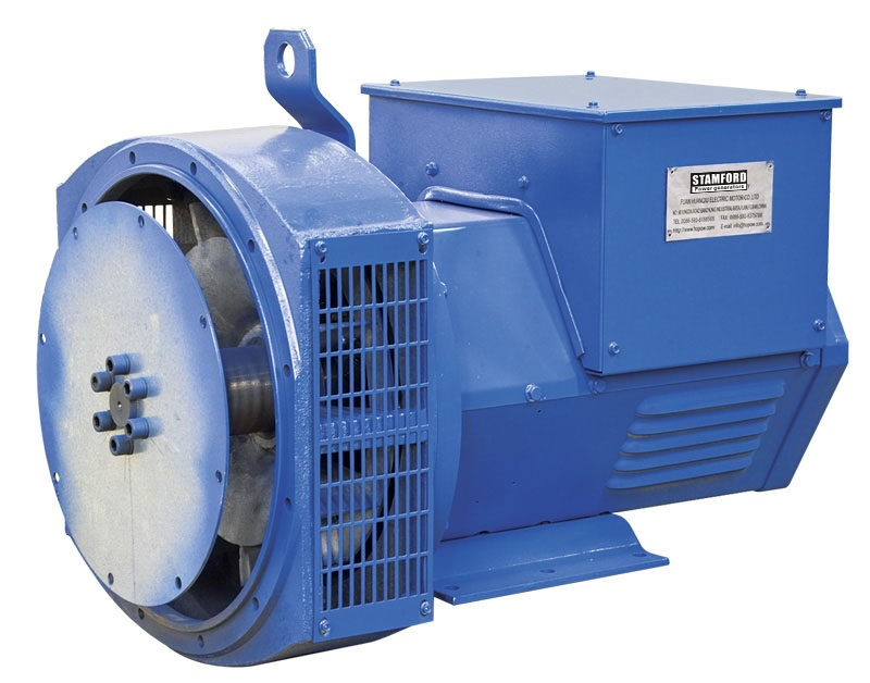 11kW brushless 3-phase alternator